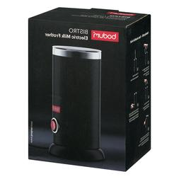 Bodum 11870-01US Bistro Electric Milk Frother, 300ml, Black