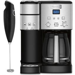 12 cup coffee maker and single serve