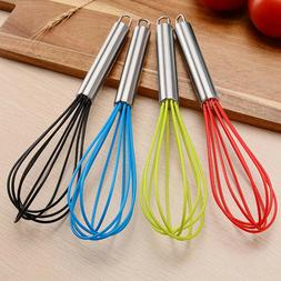 1pc Silicone Egg Beater Egg Mixer Milk Frother Kitchen Gadge