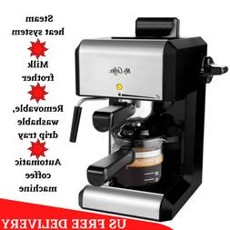 20 Oz Bar Steam Espresso Latte Cappuccino Coffee Maker with