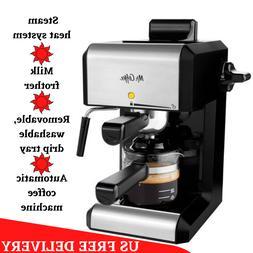 20 Oz Bar Steam Espresso Latte Cappuccino Coffee Maker with