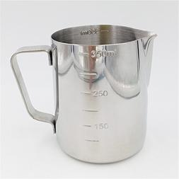2016 New Practical Stainless Steel Espresso Coffee Pitcher B