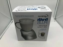204 04 frothplus automatic milk frother silver
