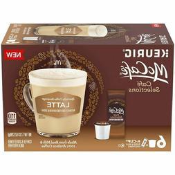 4 Boxes  McCafe Latte Coffee Keurig K-Cups *24 Total K-Cups*
