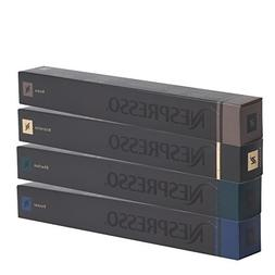 40 Nespresso OriginalLine Capsules: Roma 10, Ristretto 10, D