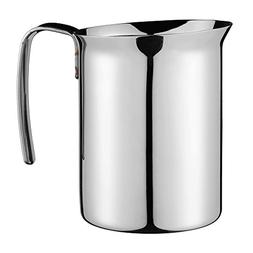 Bialetti 06729 Frother Pitcher, Stainless Steel, 25-oz