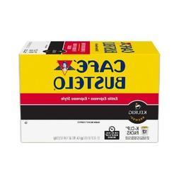 Cafe Bustelo, K-Cup Single Serve, 12 Count, 4.44oz Box