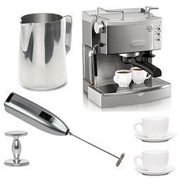 DeLonghi EC702 15-Bar-Pump Espresso Maker with Deluxe Access