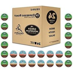 Espresso Roast K-Cup Variety Sample Pack, Single Serve Coffe