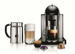 Nespresso VertuoLine Coffee and Espresso Maker with Aeroccin