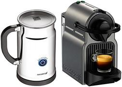 Nespresso A+C40-US-TI-NE Inissia Espresso Maker with Aerocci
