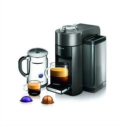 Nespresso A+GCC1-US-GM-NE VertuoLine Evoluo Deluxe Coffee an