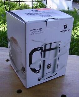 NESPRESSO Aeroccino + Electric Milk Frother 3192-US Stainles