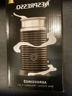 Nespresso Aeroccino3 Milk Frother -Black-3694-US-BK  Make Ca