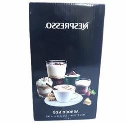 Nespresso Aeroccino3 Milk Frother - Black  New In Box