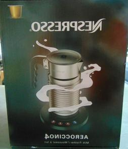 Nespresso Aeroccino4 Milk Frother, One Size, Chrome BRAND NE