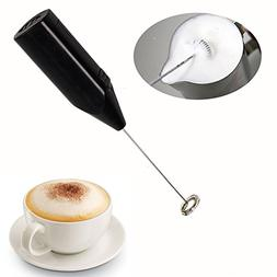 Electric Milk Frother with Stand for Chocolate Milk Coffee T