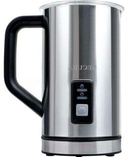 Secura Automatic Electric Milk Frother and Warmer 250ml, Sta