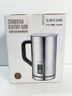 Secura Automatic Electric Milk Frother & Warmer 250ml MMF-01
