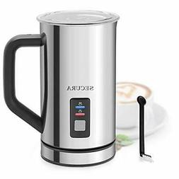 Secura Automatic Electric Milk Frother and Warmer  500ml Sta