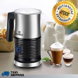 Automatic Electric Milk Frother and Warmer with Hot or Cold