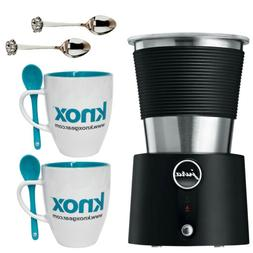 Jura Automatic Milk Frother with 2 pcs Glass Coffee mug & 2