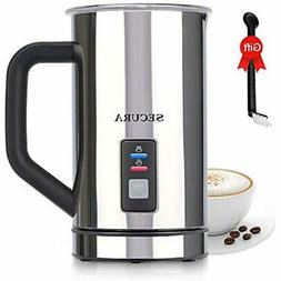 Automatic Milk Frothers Electric And Warmer  Kitchen &amp Di
