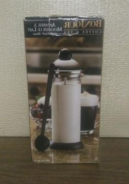 Brand New BONJOUR Coffee & Tea Milk Frother 16 oz. #53444