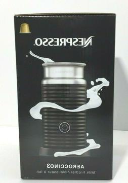 BRAND NEW - Nespresso Aeroccino3 Milk Frother, With Power Ba