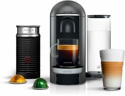 Nespresso by Breville® VertuoPlus Deluxe Coffee Espresso Ma