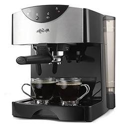 Mr. Coffee Cafe 15-Bar Pump Espresso & Cappuccino Maker