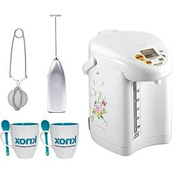 Zojirushi CD-JWC30FZ Micom Water Boiler & Warmer, Natural Bo