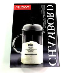Bodum Chambord Milk Frother 8.5oz New In Box