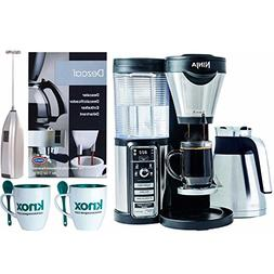 Ninja Coffee Brewer with Knox mugs, Milk Frother, Urnex Desc