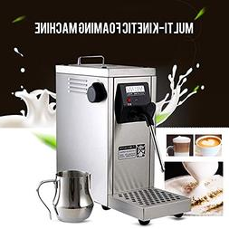 Welljoin Professional Coffee Frother Milk Steamer Commercial