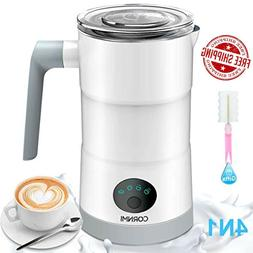 CORNMI Electric Milk Frother and Warmer,4 in 1 Automatic Mil