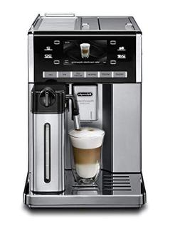 Delonghi super-automatic espresso coffee machine with double