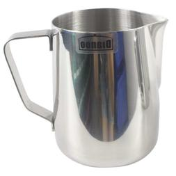 Dianoo Milk Frother Pitcher Stainless Steel Milk Cup Espress