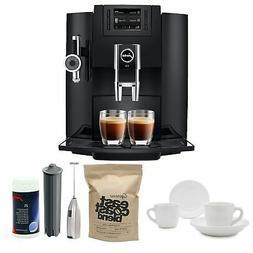 Jura E8 Espresso Machine with Milk Frother and Coffee Black
