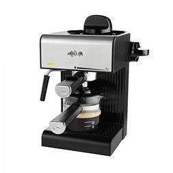 Mr. Coffee BVMC-ECM180 Steam Espresso with Starter Set, Blac