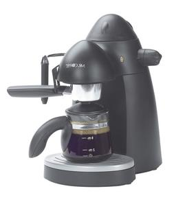 Mr. Coffee ECM20 Steam Espresso Maker, Black