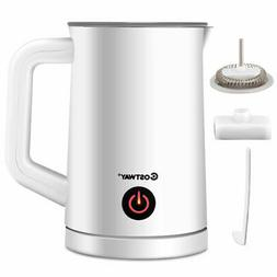 electric automatic milk frother warmer and heater