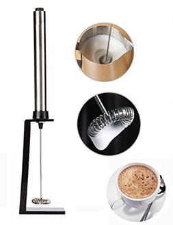 Sundlight Electric Handheld Coffee Stirrer Milk Frother Stai