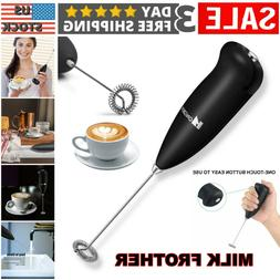 Electric Handheld Milk Frother and Automatic Foam Maker Milk