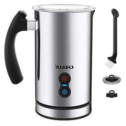 CHULUX Electric Milk Frother,Warmer and Heater 3-in-1 with W