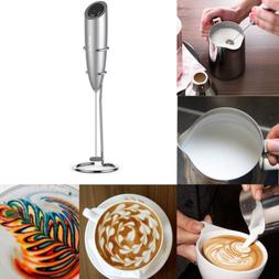 Electric Milk Frother Drink Foamer Kitchen Whisk Mixer Stirr