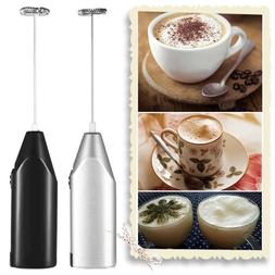 Electric Milk Frother Drink Foamer Whisk Mixer Stirrer Coffe