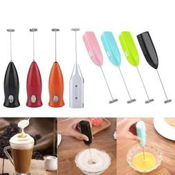 Electric Milk Frother Coffee Whisk Mixer Egg Beater Cappucci