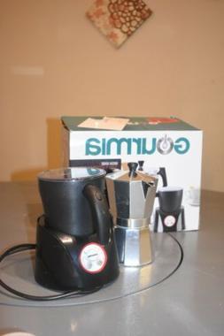 Gourmia Espresso Coffee Pot & Milk Frother Combo,