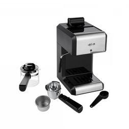 Espresso Machine  and Cappuccino Maker Milk Steam Latte Frot
